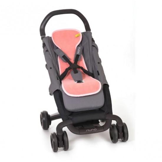 Protectie antitranspiratie AeroMOOV - Carucior/Scaun de masa - Flamingo