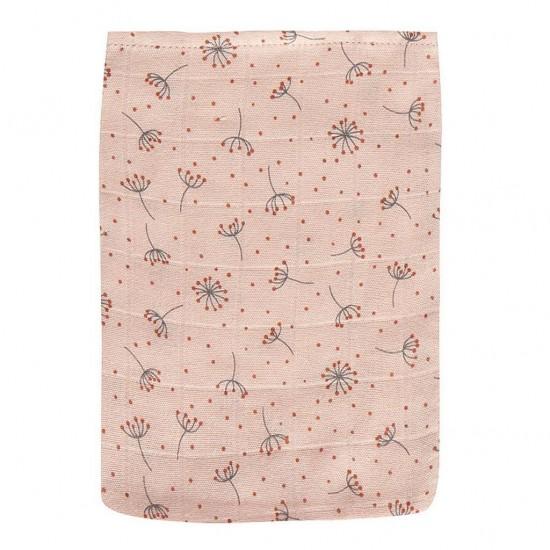 Set 3 manusi hidrofile Fabulous Wish Pink din muselina bambus Bebe Jou