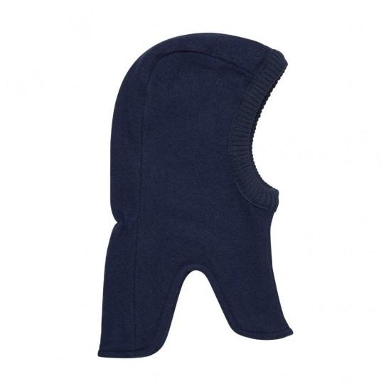 Blue Nights - Cagula calduroasa copii, lana merinos tricotata, captusita cu bumbac - En Fant