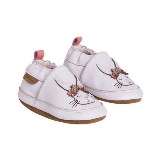 Pantofi barefoot, din piele, pentru copii - En Fant - Bunny