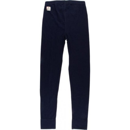 Pantaloni fini din lana merinos - Nordic Label - Total Eclipse