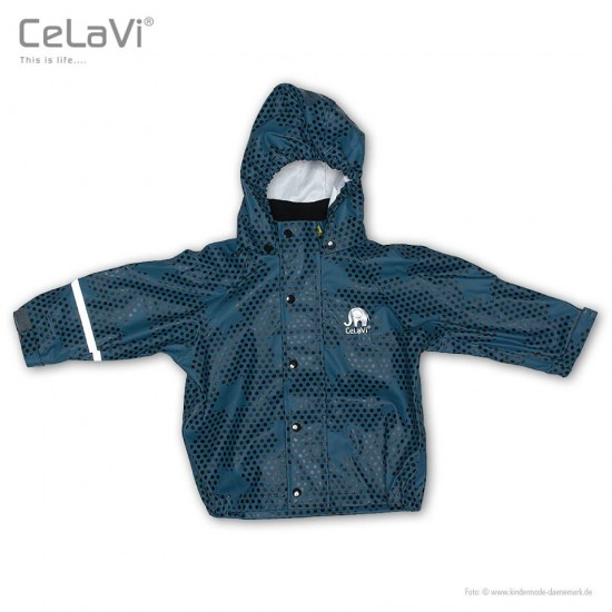 Pelerina de ploaie si vant - CeLaVi - Ice Blue Collection