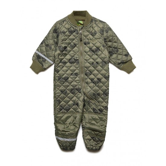 Costum Thermo matlasat - CeLaVi - Dusty Olive