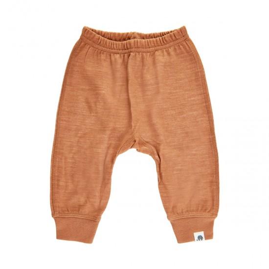 Pantaloni salvari din lana merinos si bambus - CeLaVi - Adobe