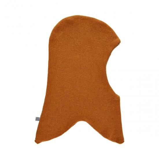 Cagula knit din lana si bumbac - CeLaVi - Pumpkin Spice
