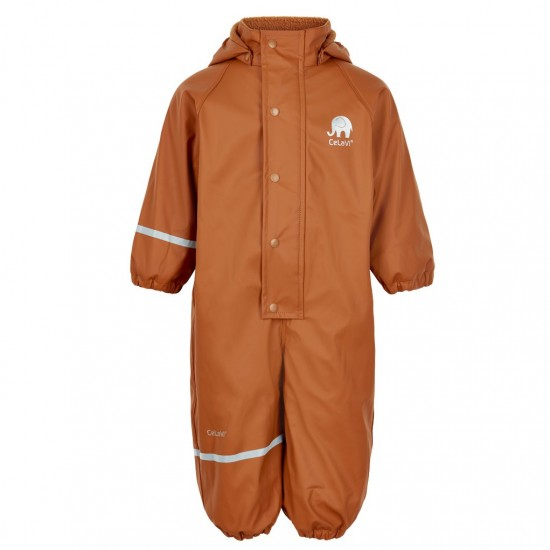 Costum intreg de vreme rece, ploaie si windstopper - CeLaVi - Pumpkin Spice