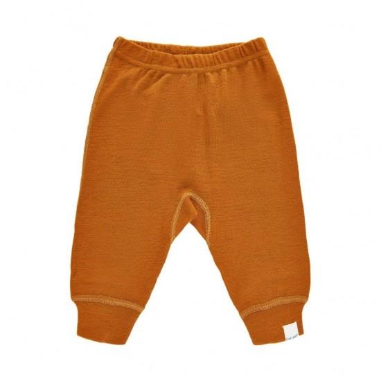 Pantaloni salvari din lana merinos - CeLaVi - Pumpkin Spice