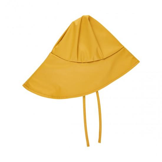 Palarie PU de ploaie impermeabila pentru copii - CeLaVi - Mineral Yellow