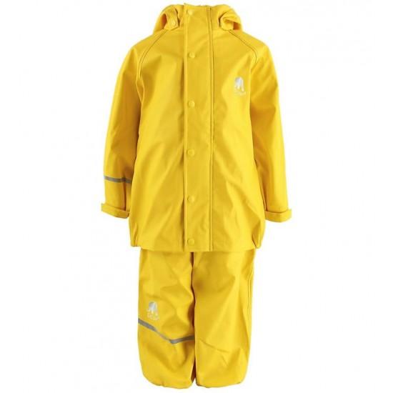 Set jacheta+pantaloni ploaie si windstopper - CeLaVi - Sunny Yellow