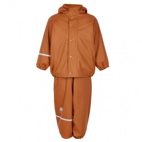 Set jacheta+pantaloni de vreme rece, ploaie si windstopper - CeLaVi - Pumpkin Spice