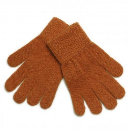 Pumpkin Spice - Manusi tricotate cu lana merinos - CeLaVi