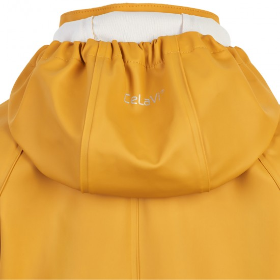 Costum intreg de ploaie si windstopper - CeLaVi - Sunny Yellow