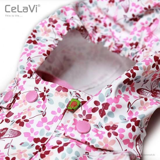Pelerina de ploaie si vant - CeLaVi - Chateau Rose with Flowers