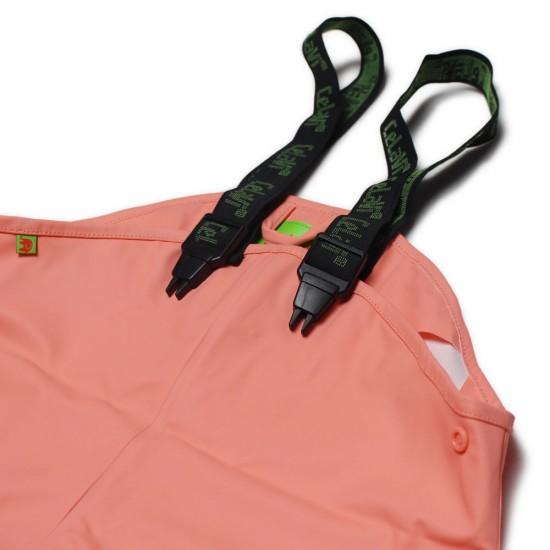 Set jacheta+pantaloni ploaie si windstopper - CeLaVi - Peach