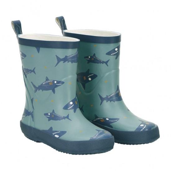 Cizme de ploaie din cauciuc natural - CeLaVi - Baby Shark