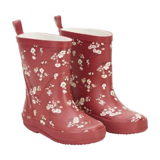 Cizme de ploaie din cauciuc natural - CeLaVi - Cherry Blossom