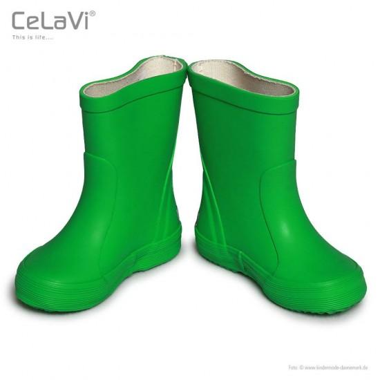 Cizme de ploaie din cauciuc natural - CeLaVi - Forest Green