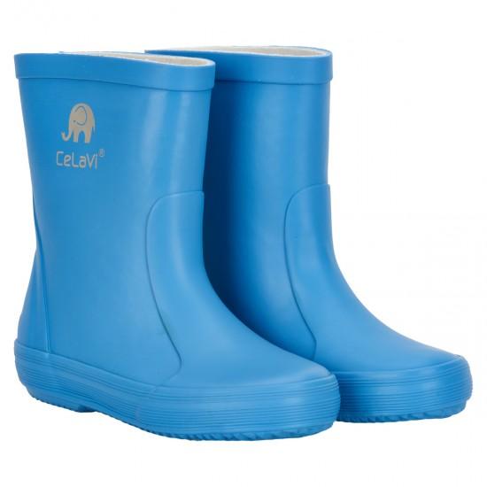 Morning Blue - Cizme de ploaie din cauciuc natural