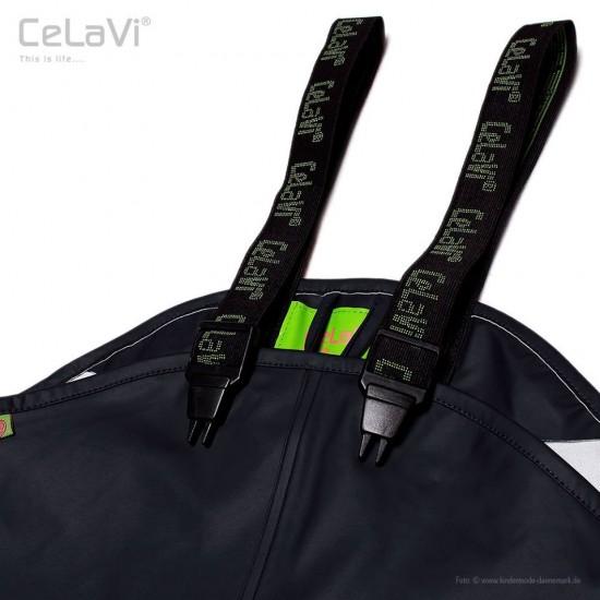 Salopeta de ploaie pentru copii mari, impermeabila - CeLaVi - Black