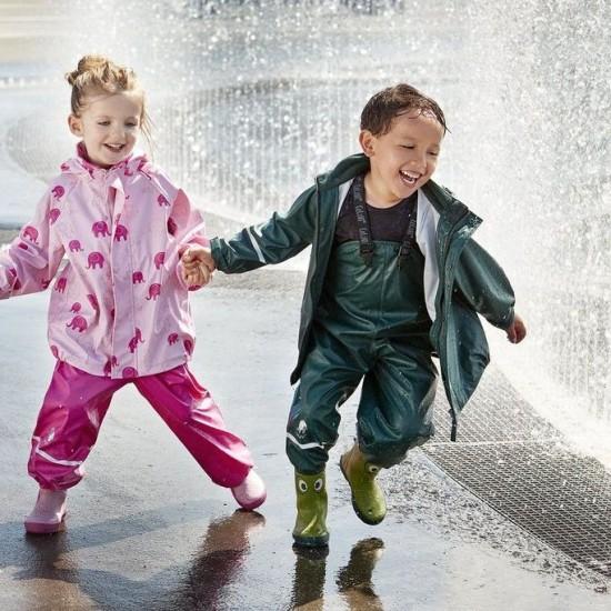 Salopeta de ploaie pentru copii, impermeabila - CeLaVi - Ponderosa Pine