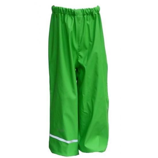 Pantaloni Forest Green de ploaie pentru copii, impermeabili