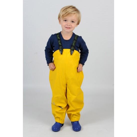 Sunny Yellow - Salopeta de ploaie pentru copii, impermeabila