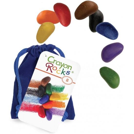 Set 8 creioane cerate Crayon Rocks