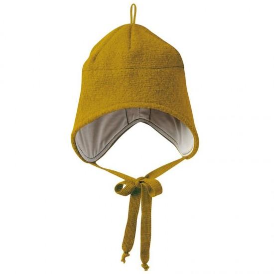 Caciula Gold din lana merino tumble/boiled