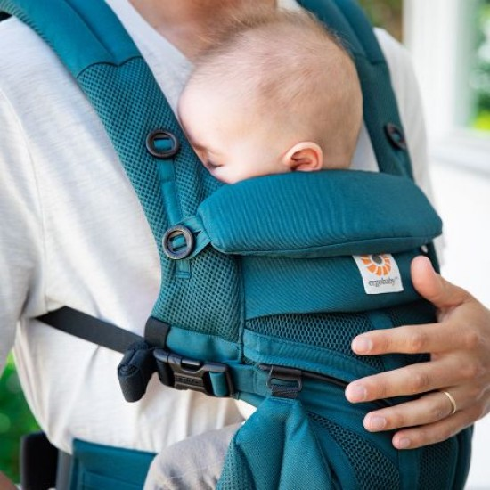 Marsupiu Original Ergobaby Omni 360 All in One - Cool Air Mesh Evergreen