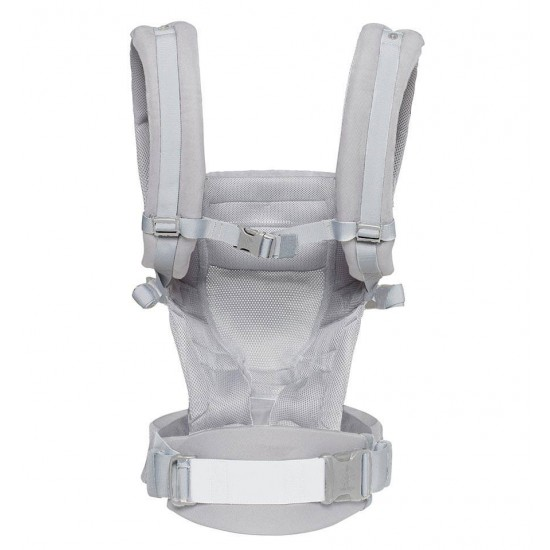 Marsupiu Original Ergobaby Adapt Cool Air Pearl Grey - 0 luni+