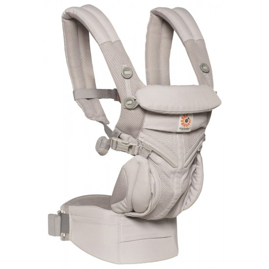 Marsupiu Original Ergobaby Omni 360 All in One - Cool Air Mesh Pearl Grey
