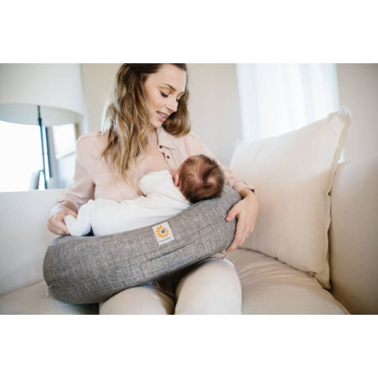 Perna pentru sarcina si alaptare  - Ergobaby - Gri
