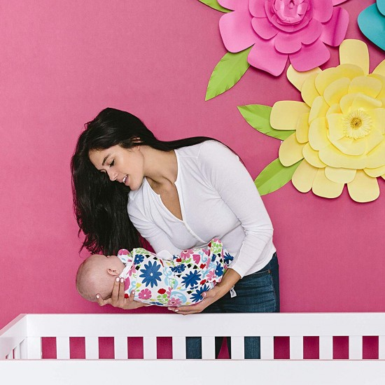 Ergobaby Swaddler - Sistem de infasare - Limited Edition French Bull Flores