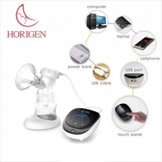 Pompa de san electrica 3D bifazica Professional Care Horigen cu accesorii