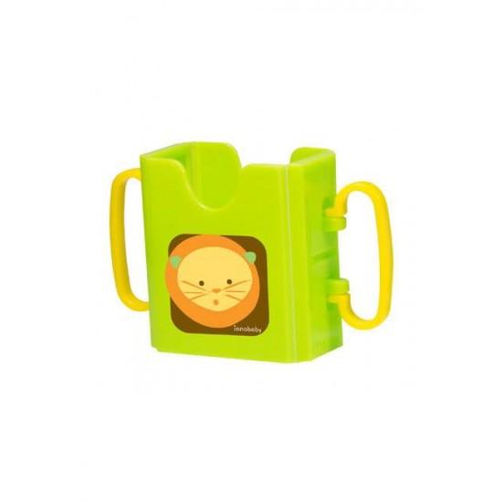 Suport pliabil pentru bauturi - Innobaby - Green Lion