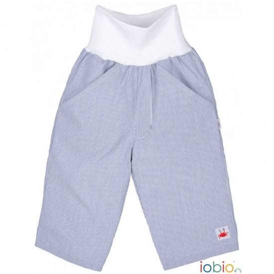 Pantaloni Salvari din bumbac organic - Iobio - Palermo Fine Stripe Blue