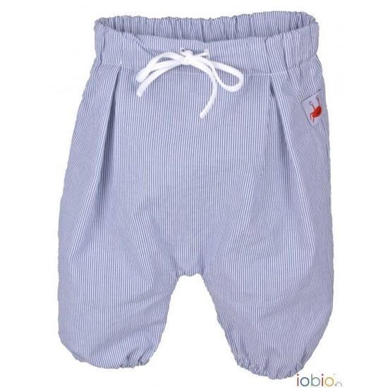 Pantaloni Salvari 3/4 din bumbac organic - Iobio - Sevilla Fine Stripe Blue