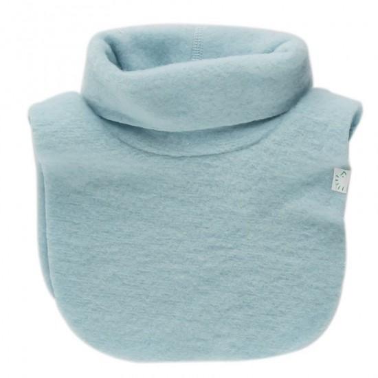 Pieptar gros din lana merinos organica fleece - Iobio - Celestial Blue