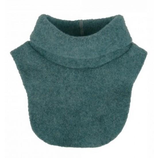 Pieptar gros din lana merinos organica fleece - Iobio - Emerald