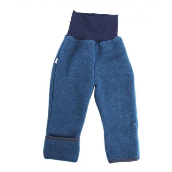 Pantaloni din lana merinos organica - wool fleece - Iobio - Jeans