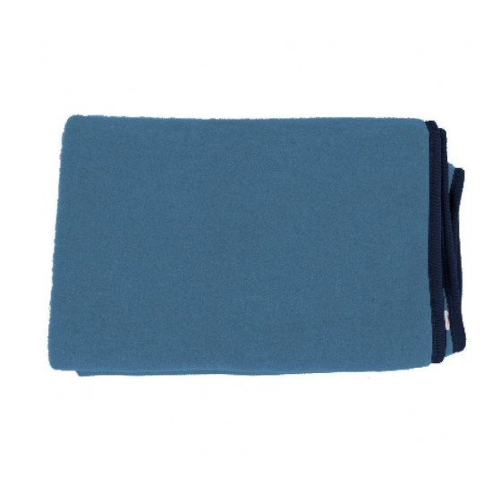 Paturica din lana merinos organica - wool fleece - 90x70 cm - Iobio - Jeans