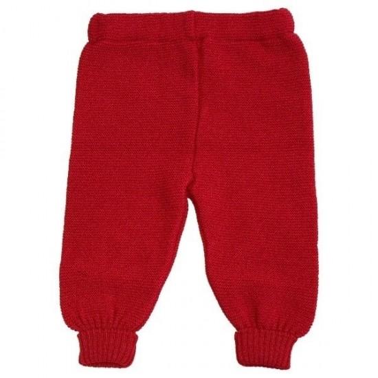 Pantaloni din lana merinos impletita - Iobio - Berry