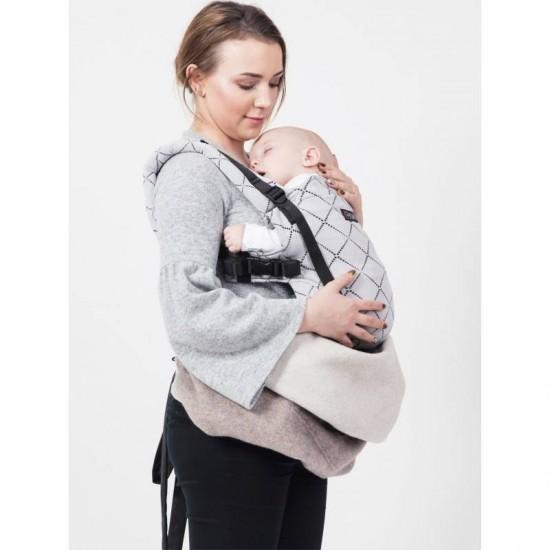 Protectie de lana merino Warm Clever Cover Isara - Soft Nude