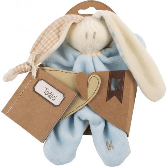 Jucarie zornaitoare textila din bumbac organic Keptin Jr - Little Toddler Sky