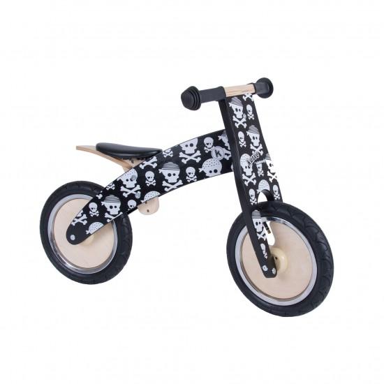 Bicicleta de echilibru Kiddimoto Kurve Skullz