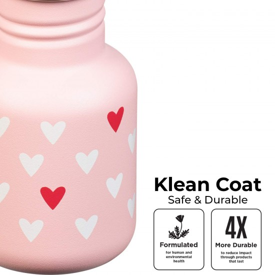 Recipient din otel inoxidabil 355 ml cu capac cu cioc - Klean Kanteen - Kid Classic Beach Bum