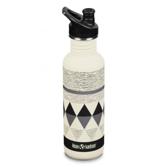 Classic Narrow Pepper Ridge - Recipient din otel inoxidabil 800 ml cu capac sport
