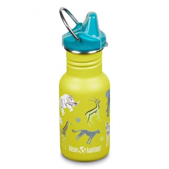 Kid Classic Narrow Safari - Recipient din otel inoxidabil 355 ml cu capac cu cioc