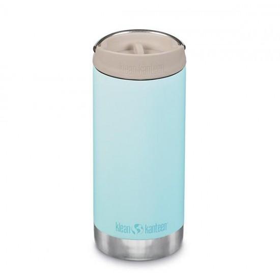 Blue Tint - Termos TKWide din otel inoxidabil 355 ml cu capac - Klean Kanteen