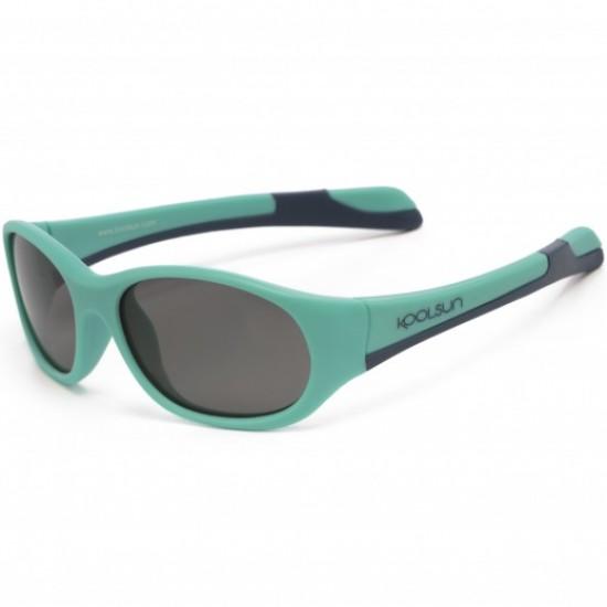 Ochelari de soare pentru copii -  Koolsun Fit - Aqua Sea Navy